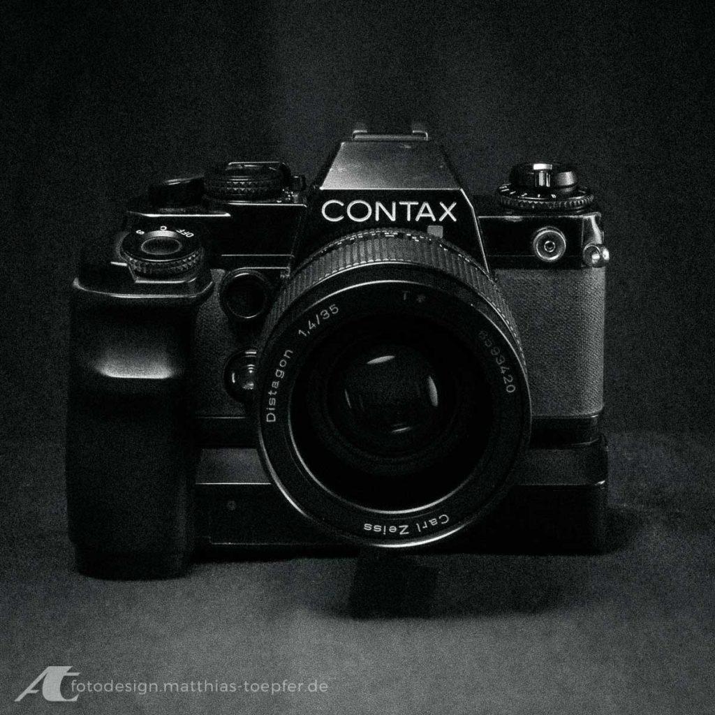 Contax 139 Quartz mit Winder W7