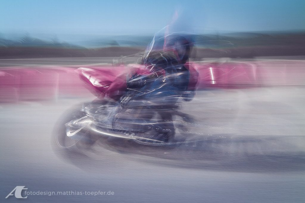 Motorrad Training Slow Shutter Speed
