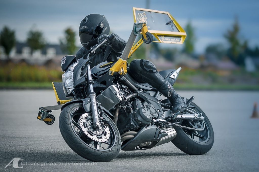 Motorrad Training Schräglage