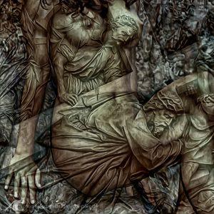 Erotik und Kirche Illustration auf Fotobasis für CROPfm.at