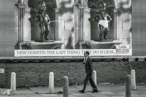 1985 in den Straßen von London Street Photography