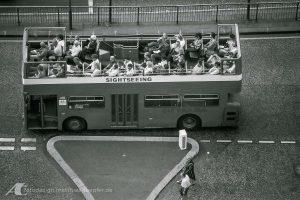 Straßenfotografie 1985 / über Londons Dächern