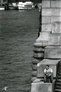 Straßenfotografie in London 1985