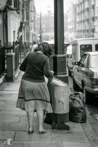 1985 in den Straßen von London