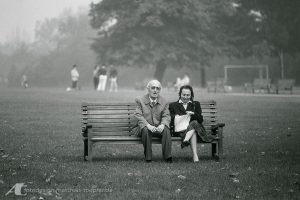 Straßenfotografie / 1985 in den Parks von London