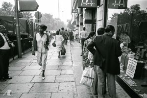Street Photography in London 1985