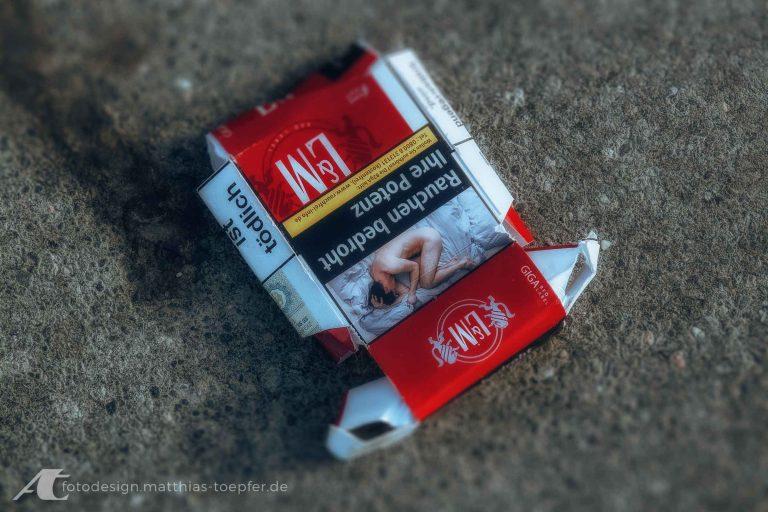 Zigaretten Gesundheit Botschaft