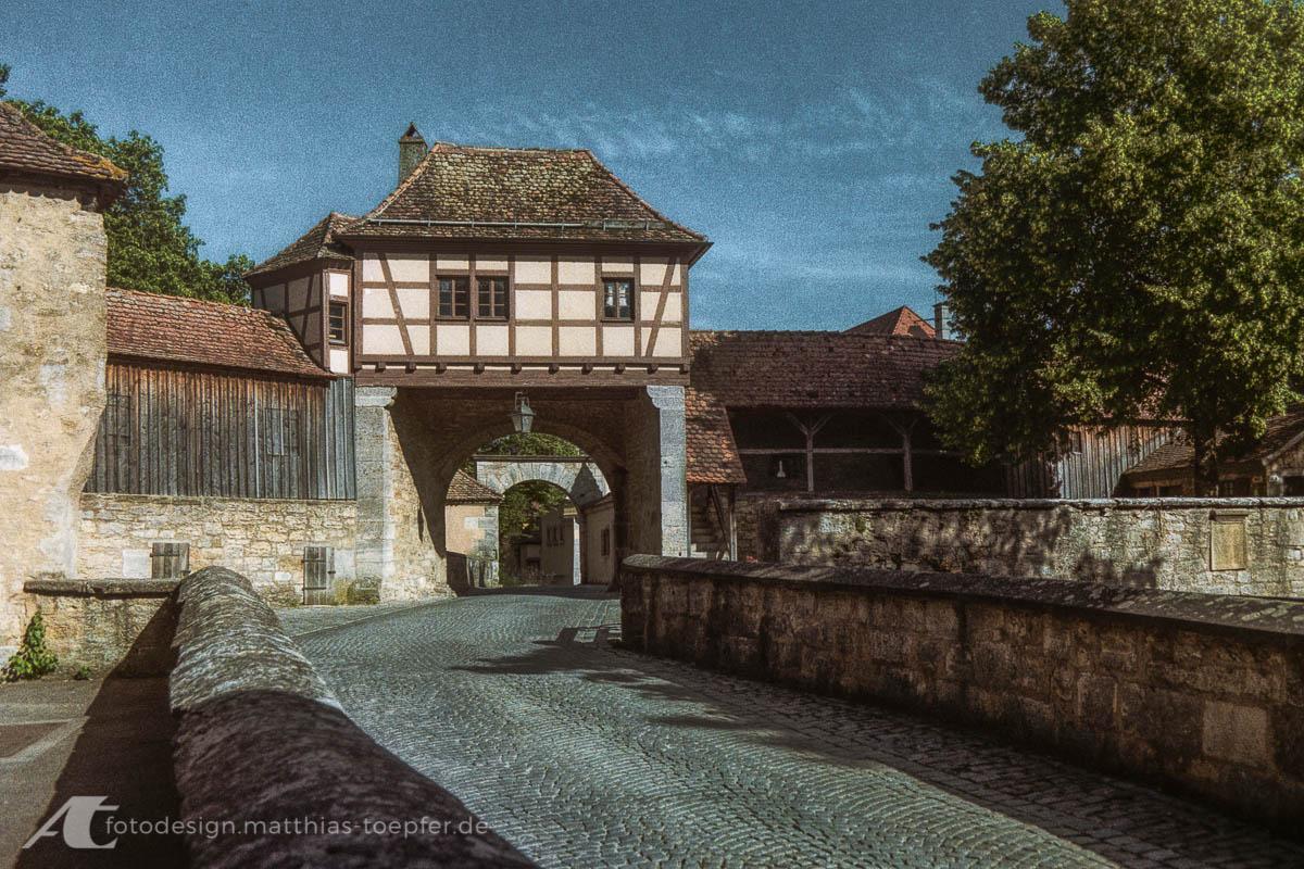 Stadttor Rothenburg ob der Tauber 2019 Canon A-1