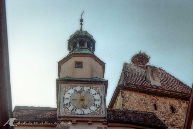 Turm in Rothenburg ob der Tauber 2019 Canon A-1